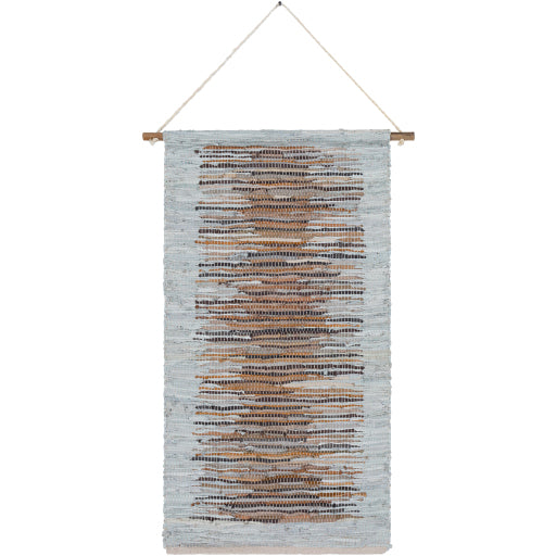 Baskin Woven Leather Wall Hanging