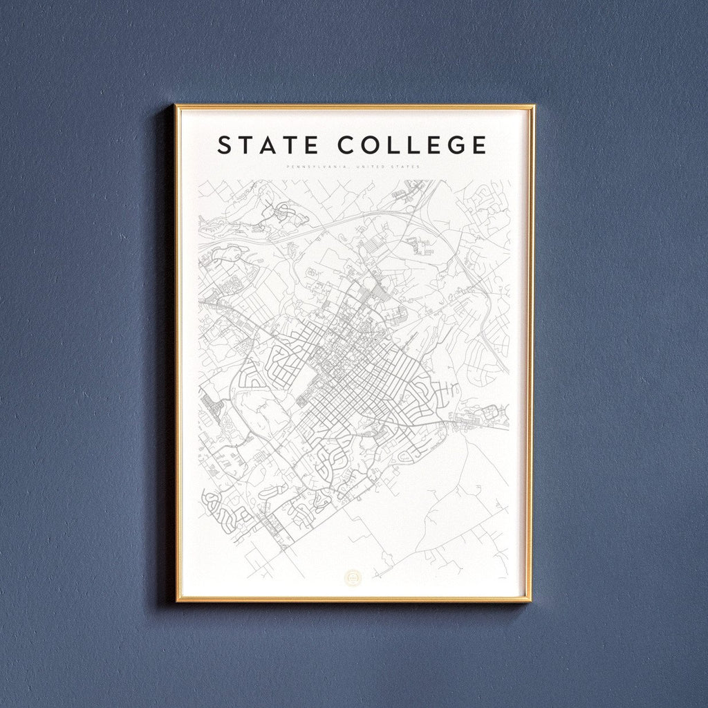 State College, Pennsylvania Map