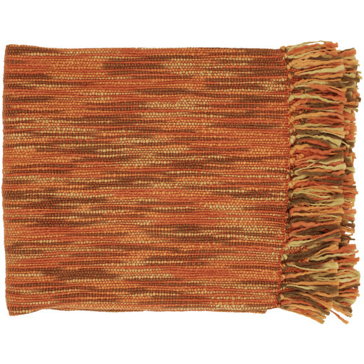 Casa Rust Melange Throw