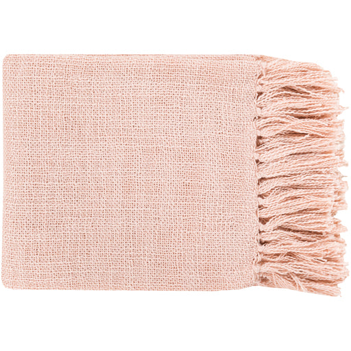 Maison Pale Pink Throw