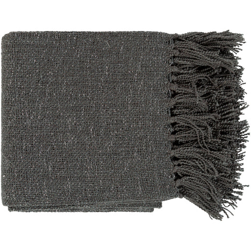 Maison Dark Gray Throw