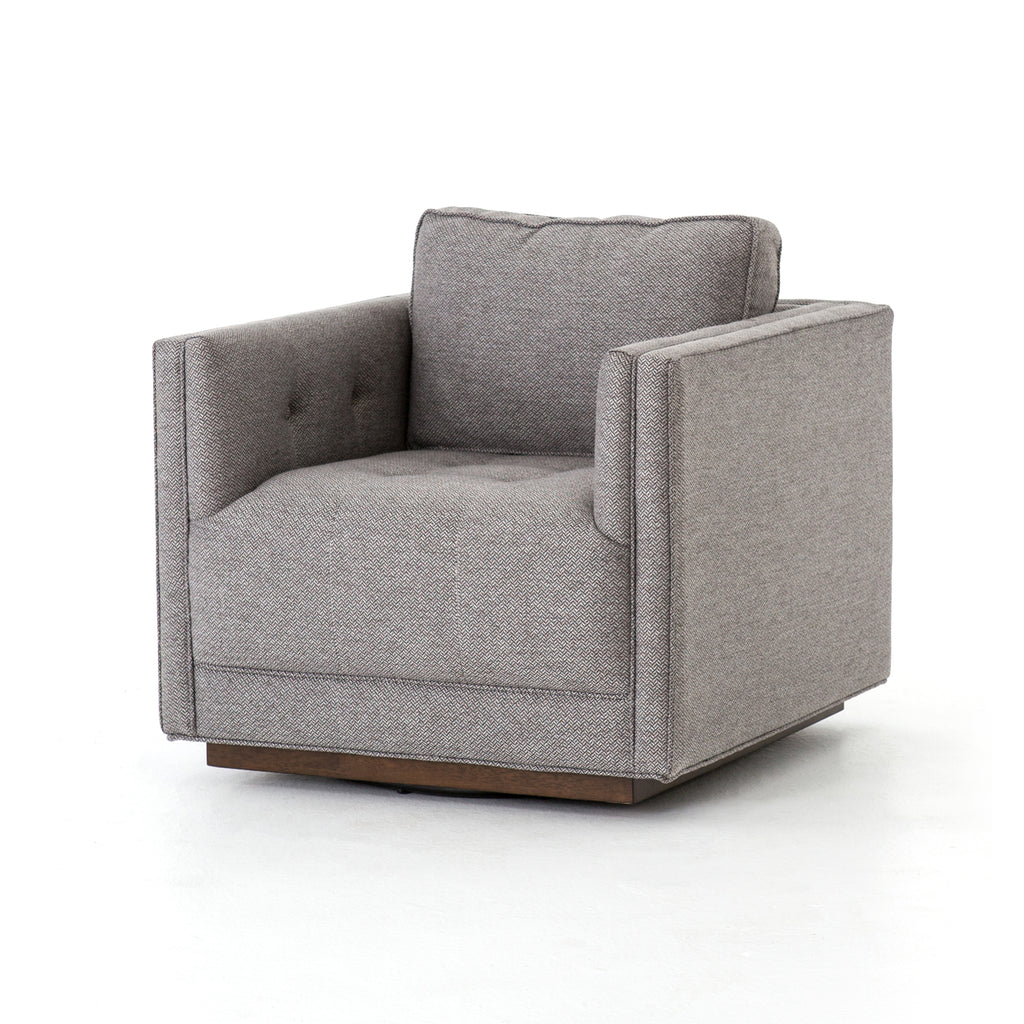 Kiera Swivel Chair Noble Greystone
