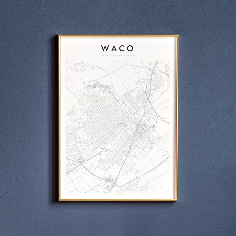 Waco, Texas Map