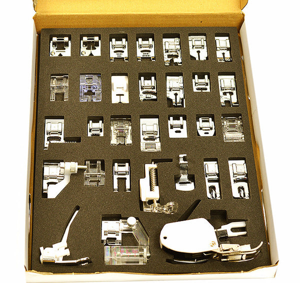30 Piece Quilting / Sewing Feet Set - HobbySew