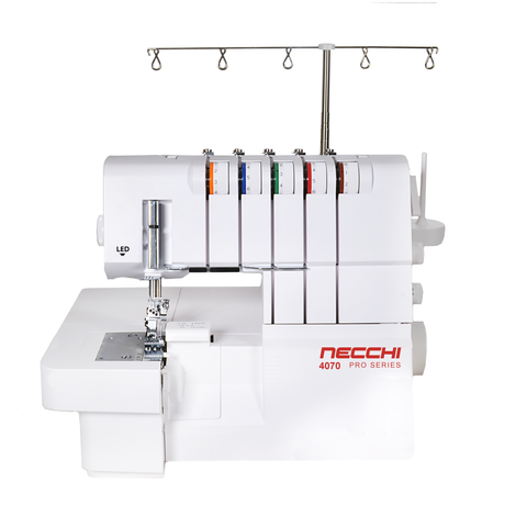 Necchi Pro 4070 Overlocker + Coverstitch (5 thread) - Showroom Model