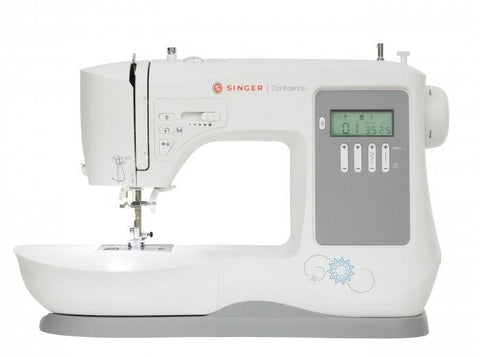 Singer 7640 Confidence Sewing Machine - 200 Stitches With Alphabet + Free Extension Table
