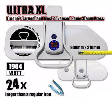 Speedypress Ultra Xl Press 90Cm - Largest Home Ironing Press + Free Extra Cover & Foam Underfelt (Rrp £39.00).