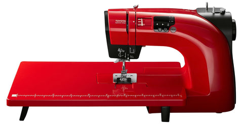Toyota * Power Range * Oekaki Renaissance in Red - Sewing & Free Motion Embroidery Machine - October Offer