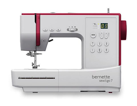 Bernette By Bernina Sew & Go 7 Sewing Machine (Sew With Or Without Pedal)