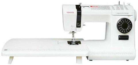 Toyota Jeans 17CT (drop in bobbin) + Extension table