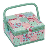 Floral Sewing Box (Small) - HobbySew