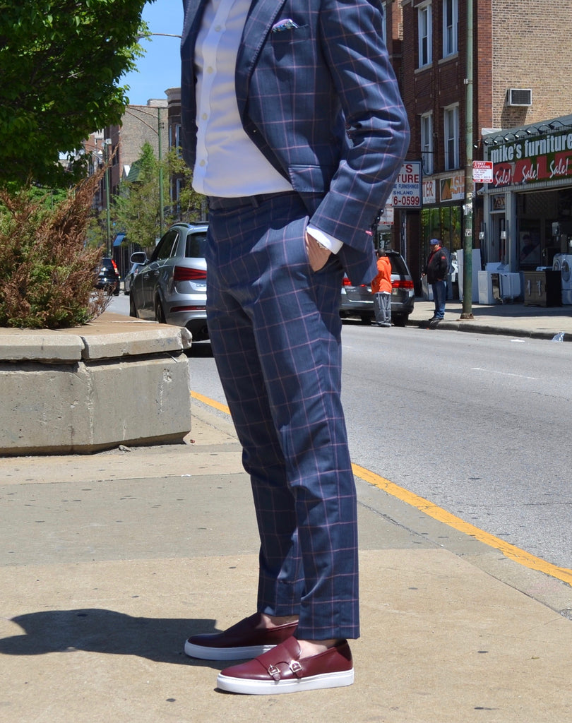 How to Wear Suits With Sneakers Marc Nolan Men's Shoes Chicago