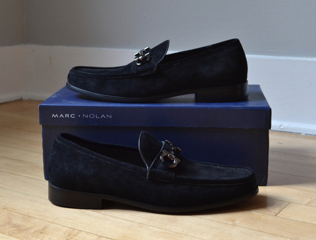 Marc Nolan Shoes Chicago Peyton Horse-Bit Loafers