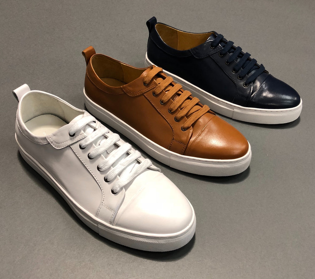 Mason Cap-Toe Lace-Up Sneakers Chicago