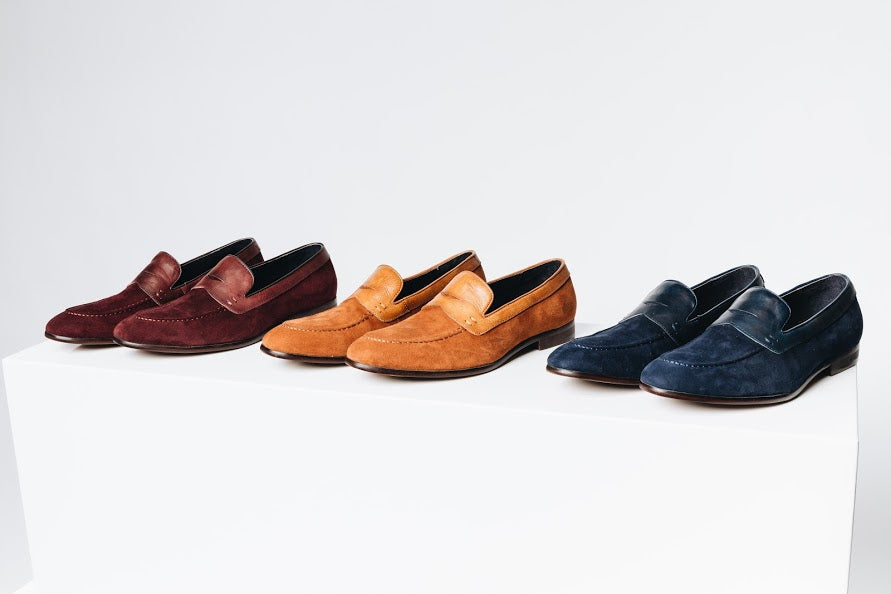 Pierce Suede Penny Loafer Chicago