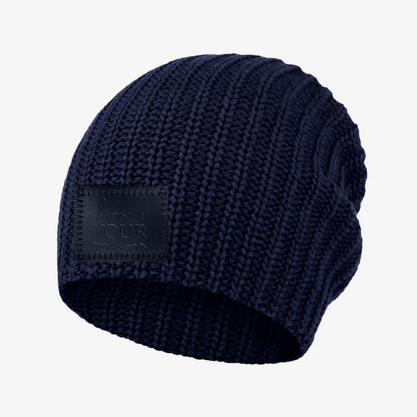 Love Your Melon Navy Beanie
