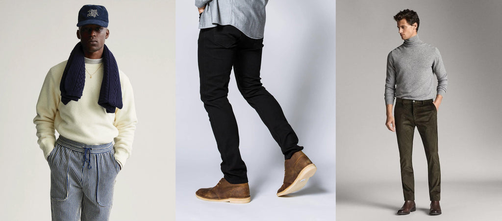 Men's Winter Fashion Chinos