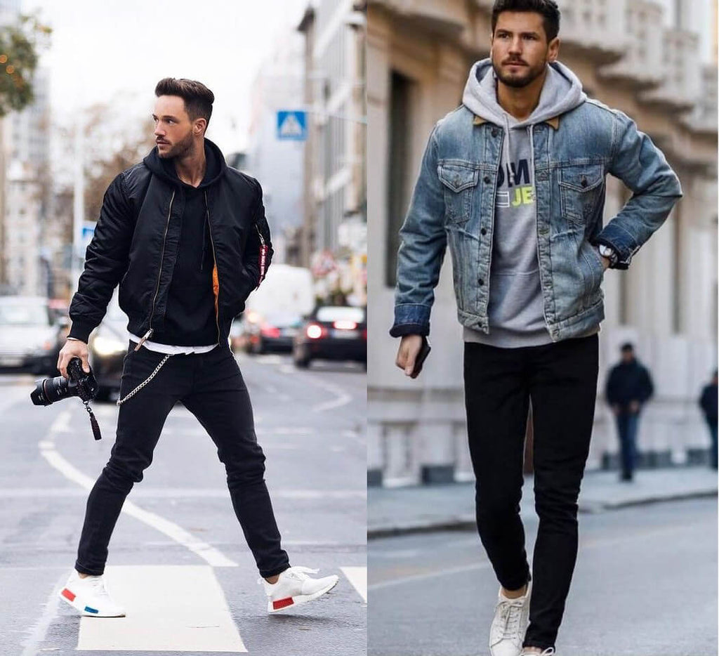 Mens Joggers and Hoodie