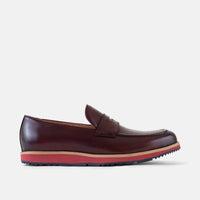 Ace Wine Penny Loafers