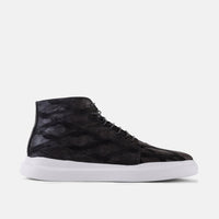 Axel Black High-Tops Sneakers