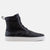 Magnus Black High Top Woven Sneakers