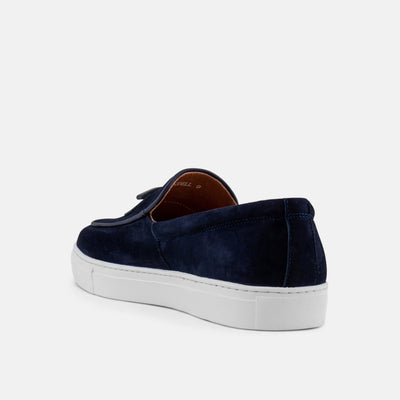 Odell Navy Belgian Loafer Sneakers