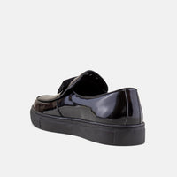Godfrey Black Belgian Loafers Sneakers
