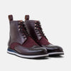 Jax Burgundy High Top Sneakers