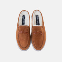 Odell Pecan Belgian Loafer Slippers