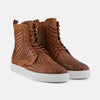 Magnus Brandy High Top Woven Sneakers
