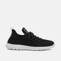 Gliders Black Sneakers