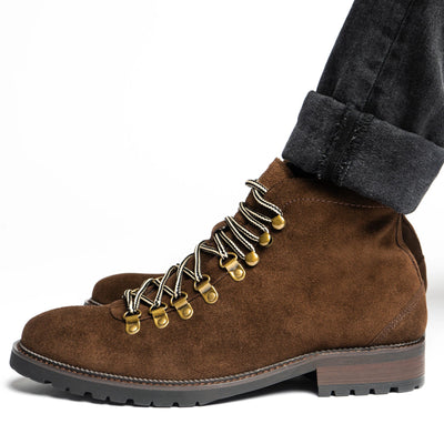 Tor Coffee Hiking Boots - Marc Nolan