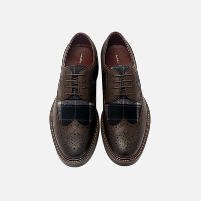 August Espresso Wingtip Lace Ups