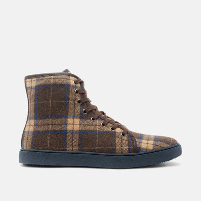 Jagger Coffee High-Top Sneakers
