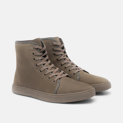 Jagger Grey High-Top Sneakers
