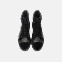 Chances Black High-Top Sneakers