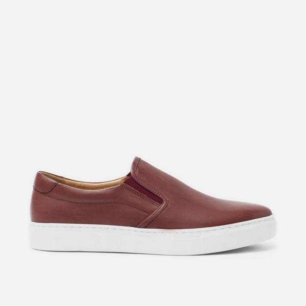 Ellison Ruby Red Sneakers