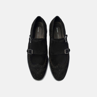 Palmer Black Monk Strap Sneakers - Marc Nolan