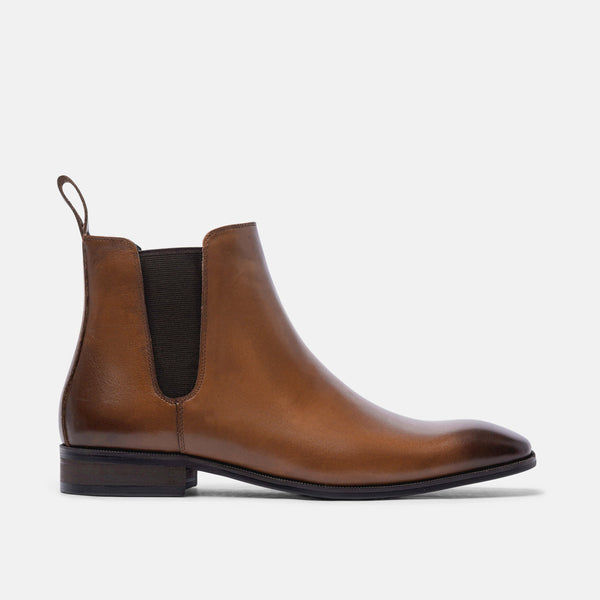 Harry Chestnut Chelsea Boots