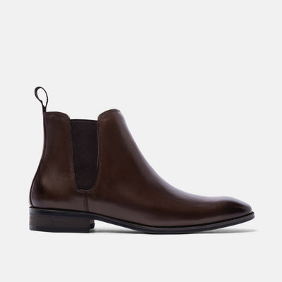 Harry Chocolate Chelsea Boots