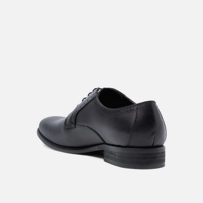 Danny Black Derby Shoes