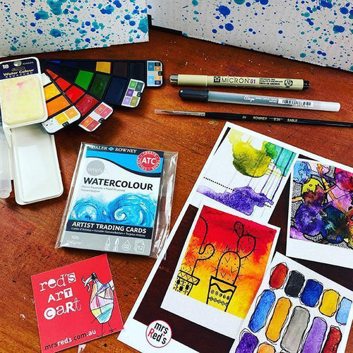 What's inside January 20 Red's Art Cart?