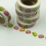 Popular Washi Tape | Decorative | Glitter | Pastel | Designs - Macaroons