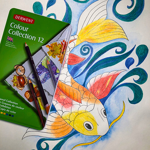 Derwent 'Colour Collection' mixed media sets