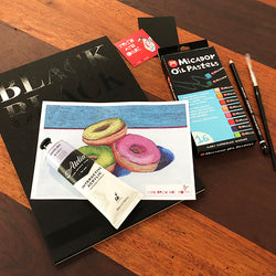 FEBRUARY 19 Red's Art Cart -  Art Subscription Box