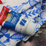 Speedball Fabric Block Printing Ink - Mrs Red's - Blue