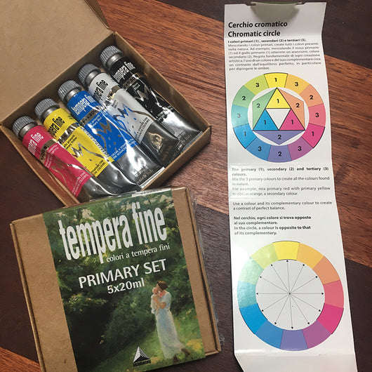 Gouche Primary Colour Set 20ml x 5 - Maimeri