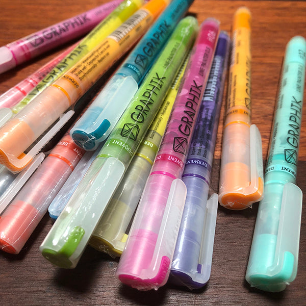 Derwent Graphik Line Painter pens - 20 colours available