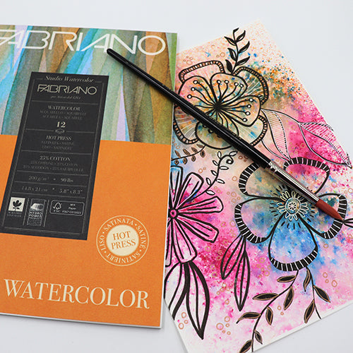 Fabriano watercolour pads