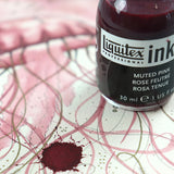 Liquitex Inks are perfect for drawing, mixed media and painting with.